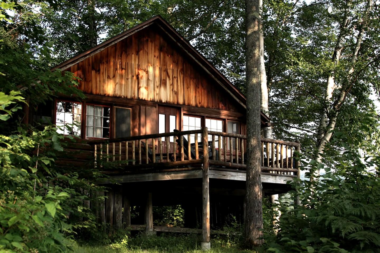 Log Cabin Rental Near Saratoga
