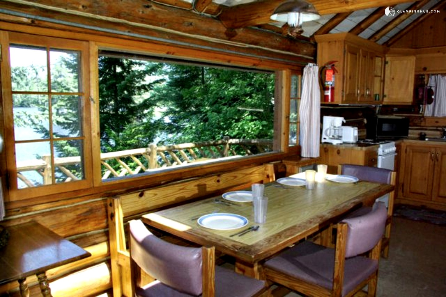 Log cabin rental near saratoga springs for Saratoga springs vacation rentals