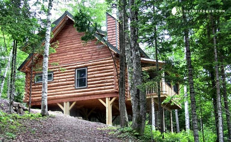 Log cabin rental near lake placid for Log cabins in ny