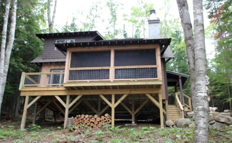 Modern cottage rental glen falls for Camps and cottages