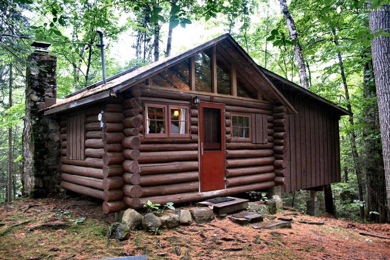 log cabin rental lake placid