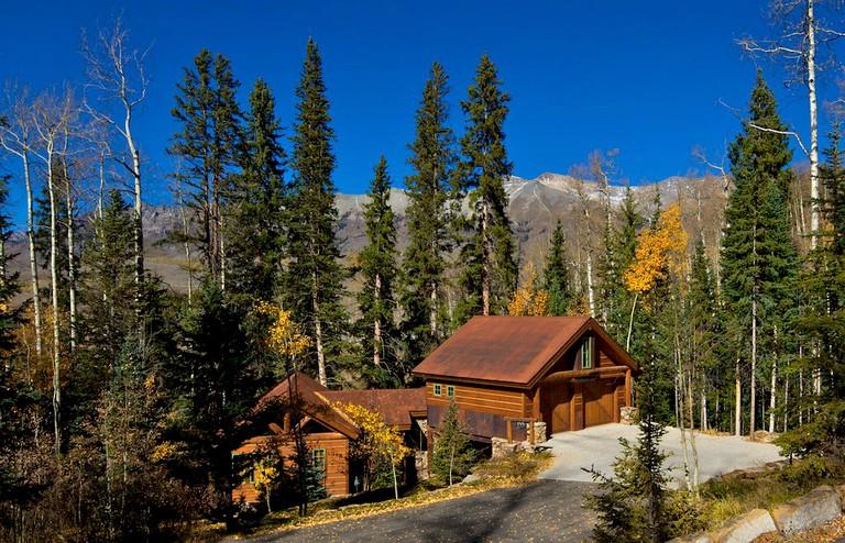Rustic Scenic Cabin Rental Near Telluride In Mountain Village Colorado