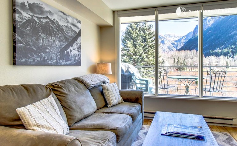 Deluxe Cabin Rental With Majestic Mountain Views In Telluride Colorado