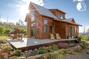 Glamping in colorado colorado luxury camping sites for Cabin rentals near denver colorado