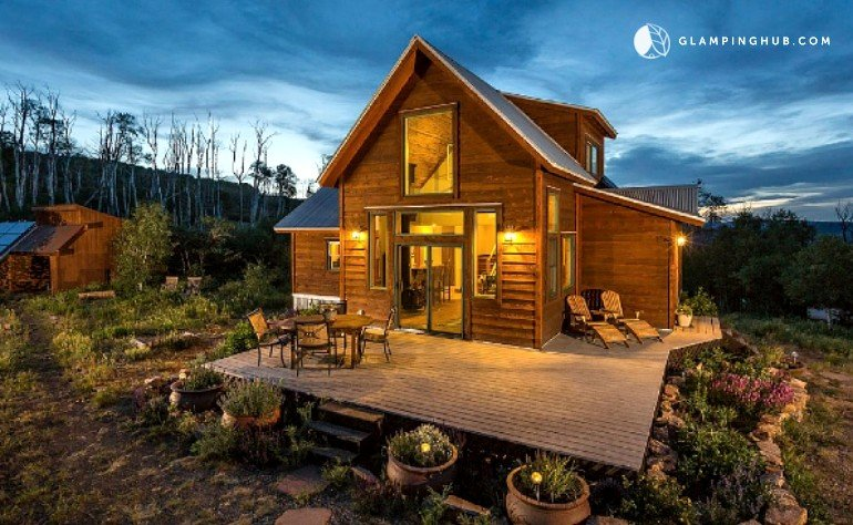 Cabin rental near telluride for Mountain cabin rental colorado