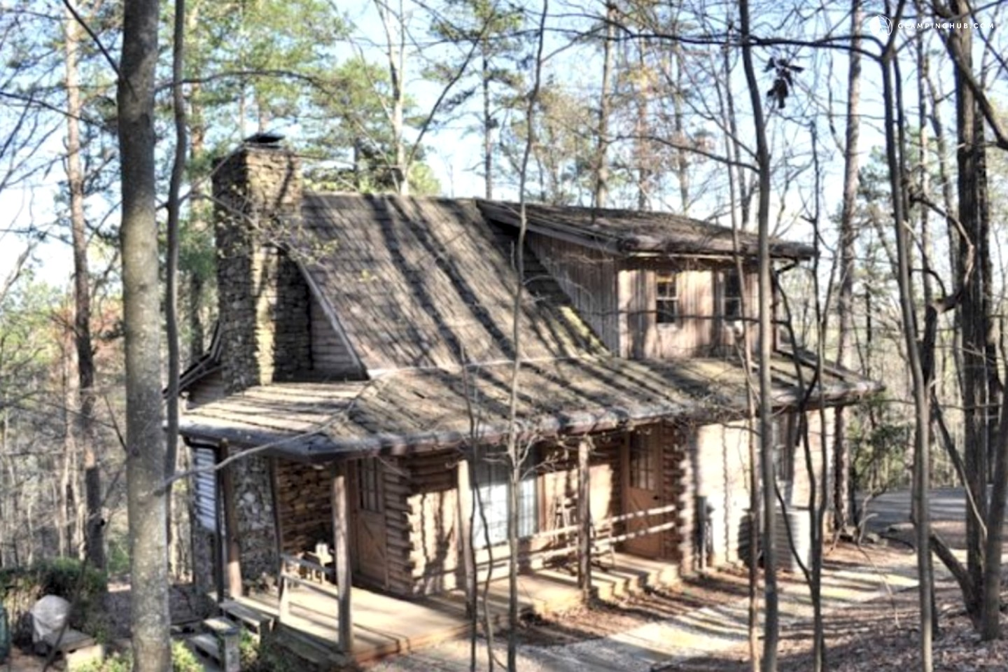 Cabin Rental In The Blue Ridge Mountains Near Jasper Georgia