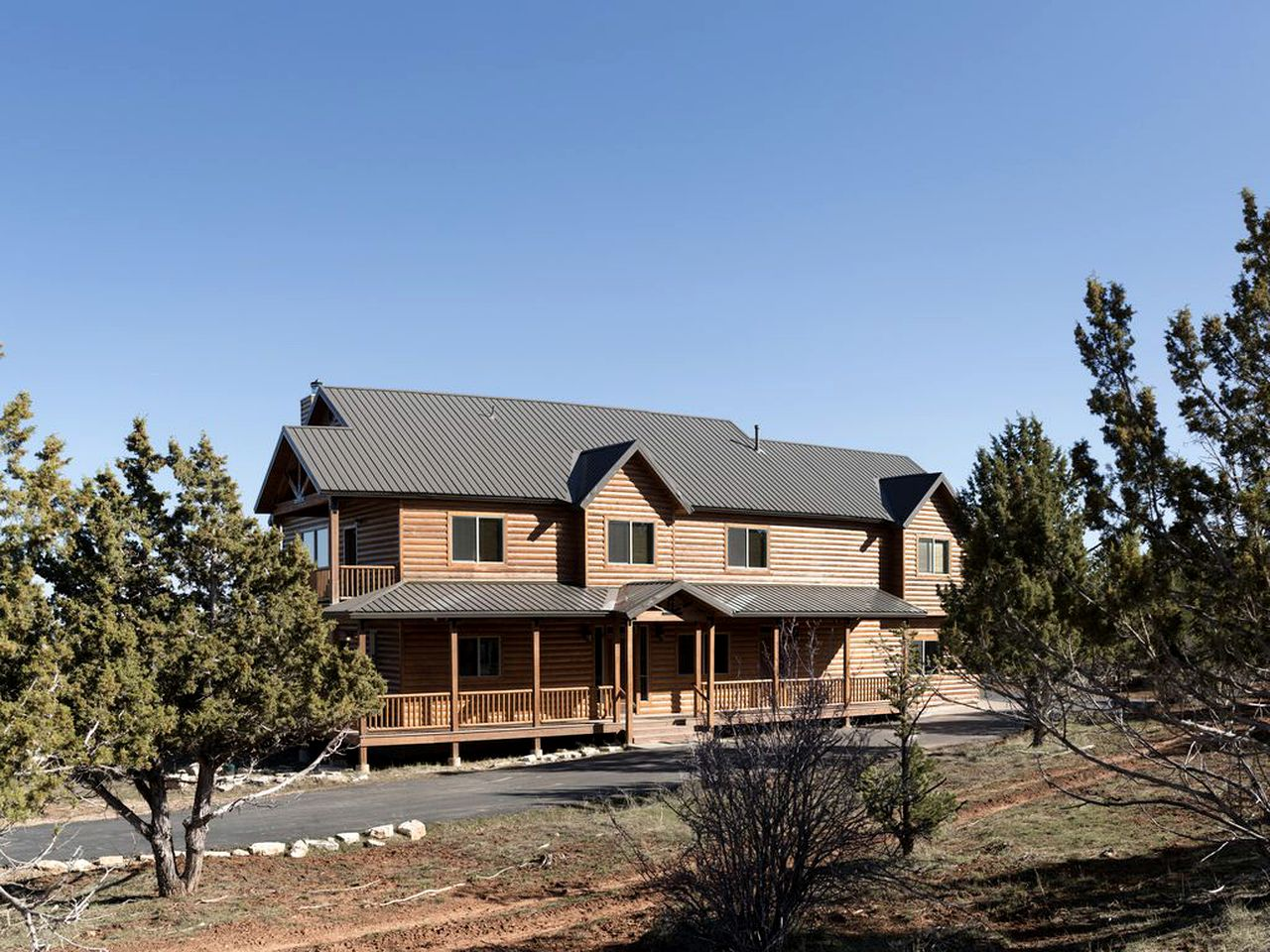Log Cabins (Mount Carmel, Utah, United States)
