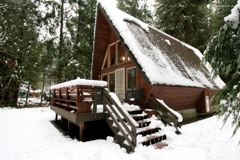 Unique A Frame Cabin Rental Near Vancouver