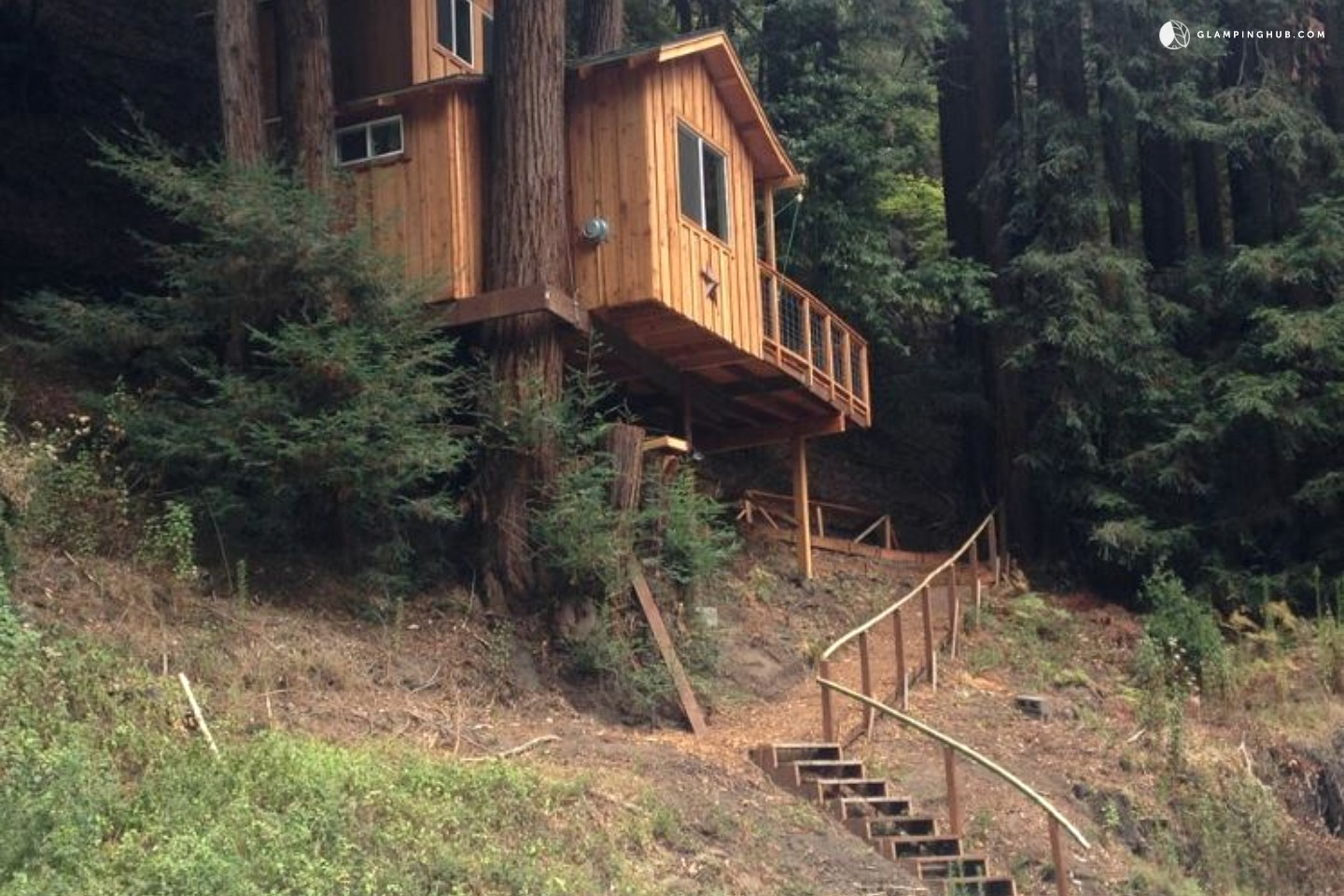 This Tiny Cabin In The Redwoods Is The Perfect Getaway For: Romantic Getaway In Redwoods Of Santa Cruz
