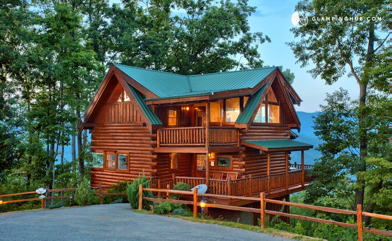 Knoxville cabin rental for Cabin rentals near smoky mountains