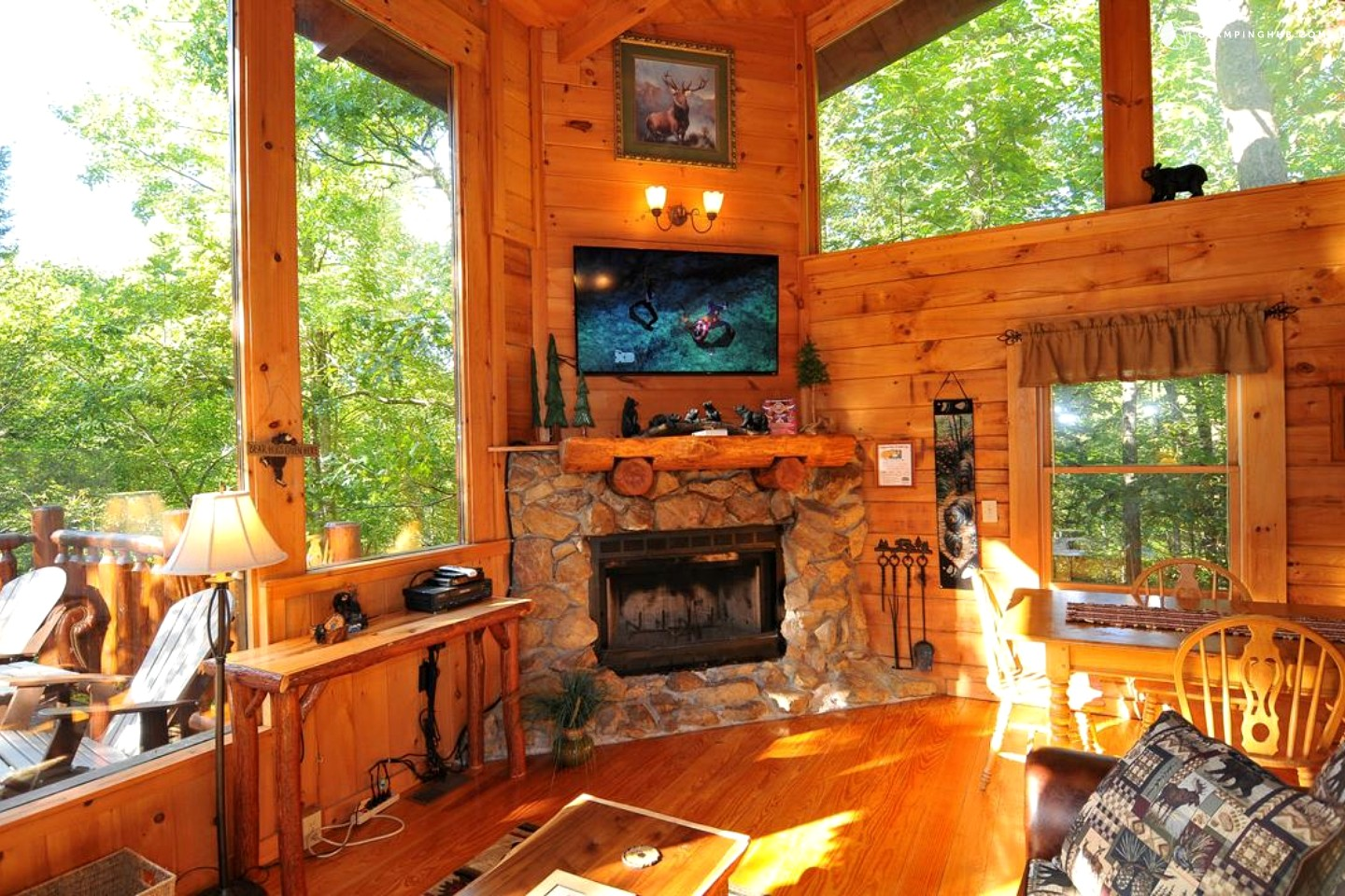 Smoky mountain cabin vacation rental for Rent cabin smoky mountains