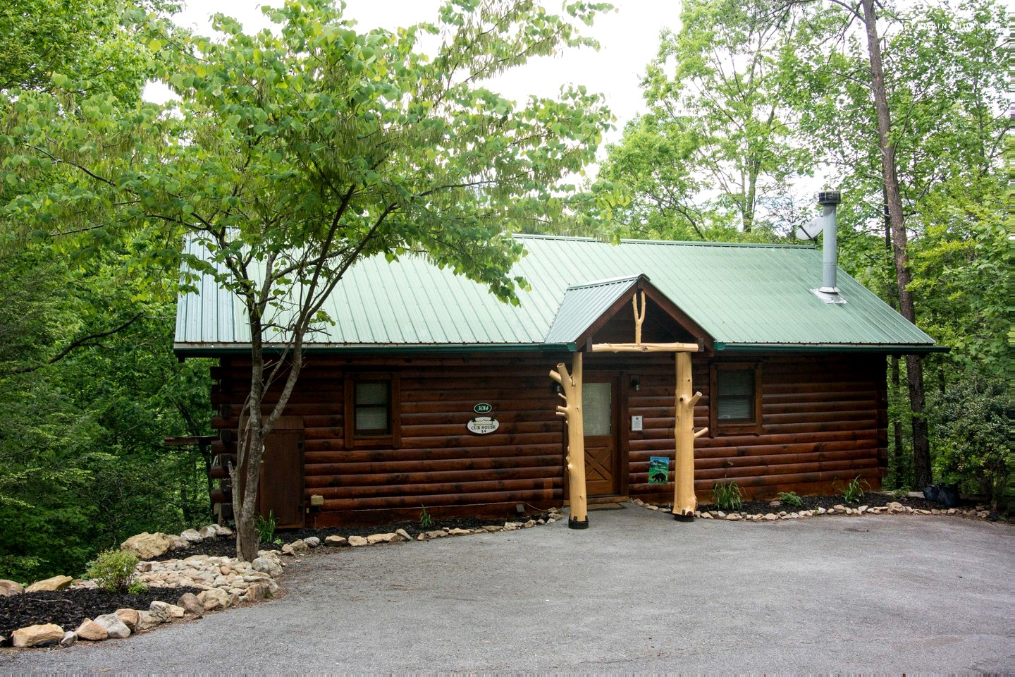Smoky mountain cabin vacation rental for Smoky mountain tennessee cabin rentals