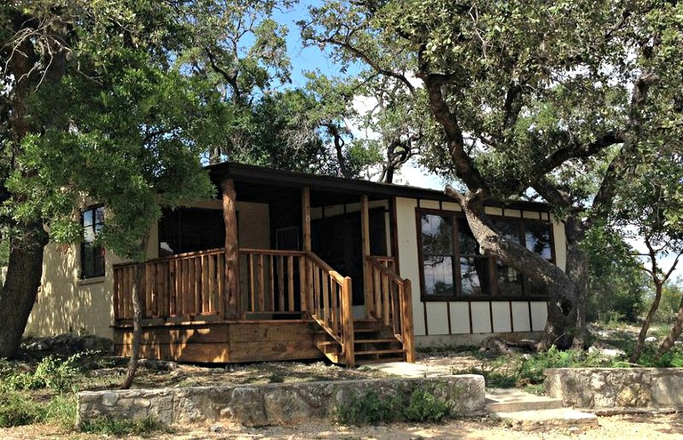 Family Friendly Cabin Rental On A Frio River Resort In The Texas Hill Country