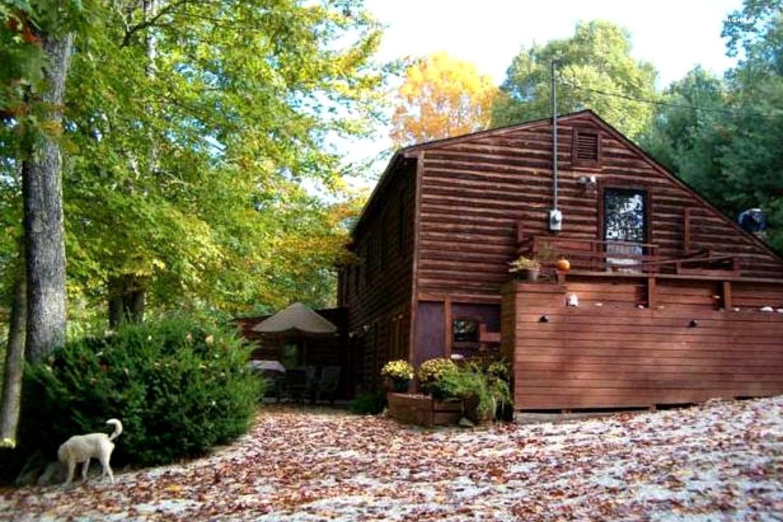 cabin rental near lynchburg virginia