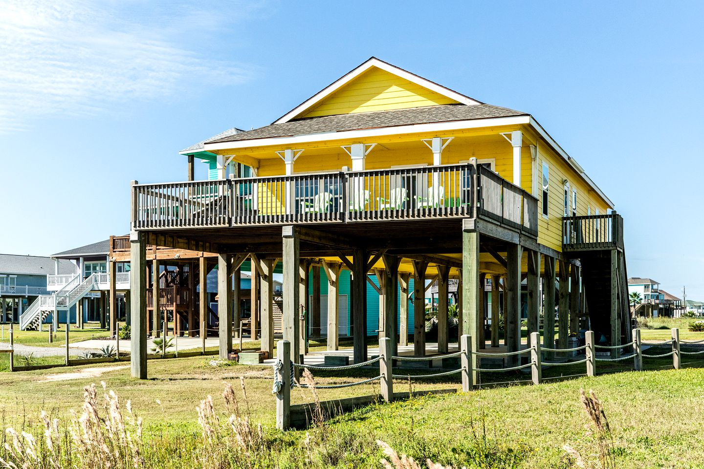 Cabins (Crystal Beach, Texas, United States)