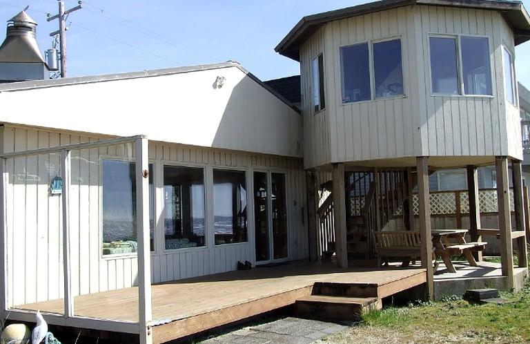 Brilliant Oceanfront Vacation Rental With Amazing Views In Rockaway Beach Oregon Download Free Architecture Designs Jebrpmadebymaigaardcom
