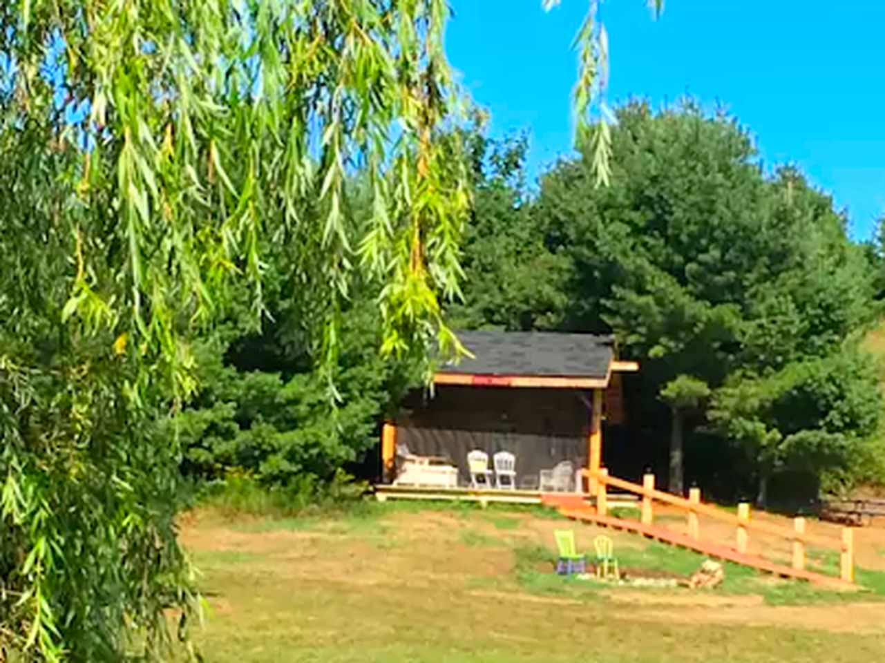 Off-The-Grid Cabin Rental on a Sublime Cherry Farm in Ellsworth, Michigan