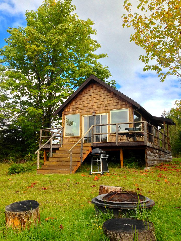 Cabin Rental For Couples Next To Olympic National Park