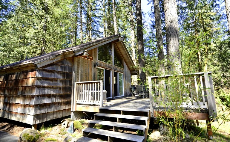 Romantic cabin near mt hood oregon for Romantic cabins oregon