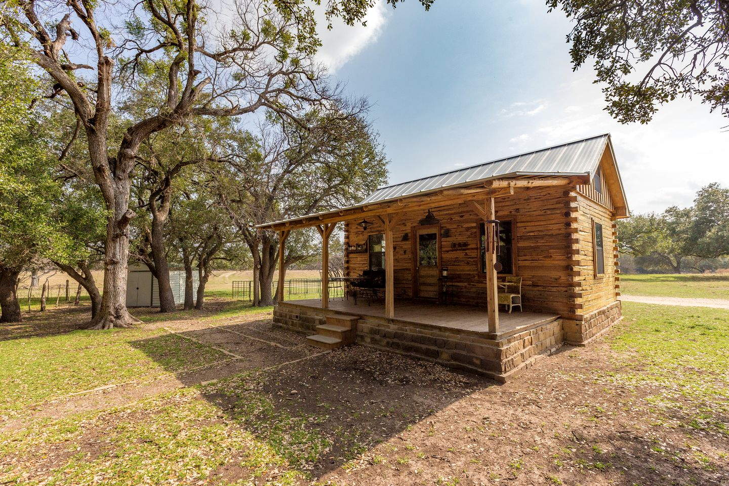 Texas Hill Country cabin rental.