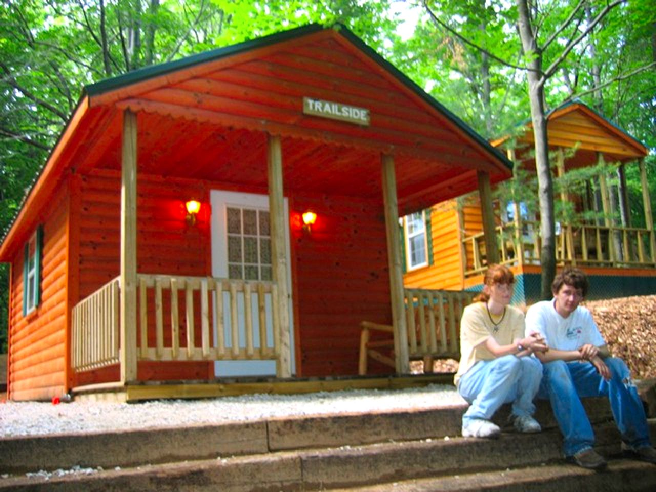 Cabin rental on Silver Lake State Park, Michigan