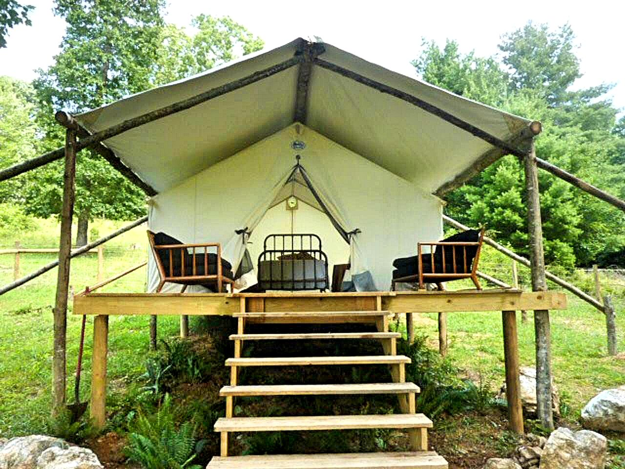 Go safari! Virginia tent rental exterior