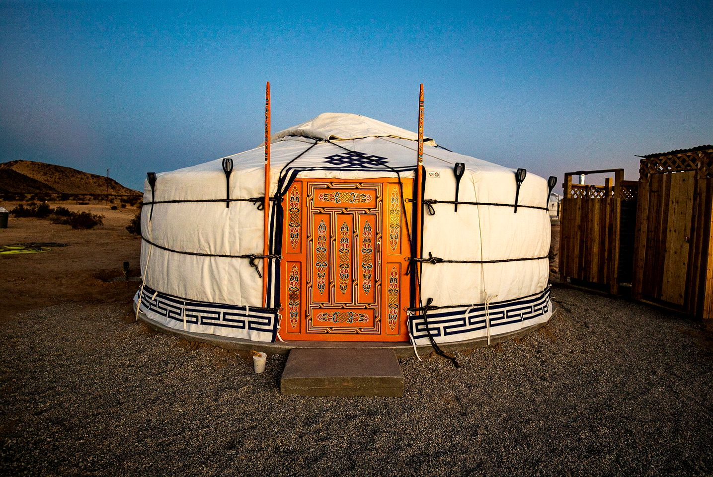 Yurts (Twentynine Palms, California, United States)