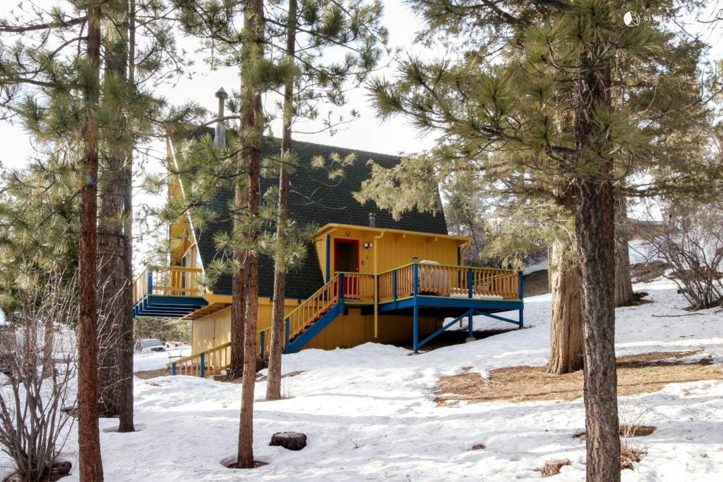 Family cabin getaway in big bear lake california for Big bear cabins california