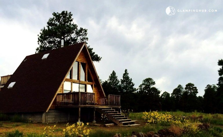 cabins arizona rental inn mountain and flagstaff sweet for rent cabin comfy accommodations