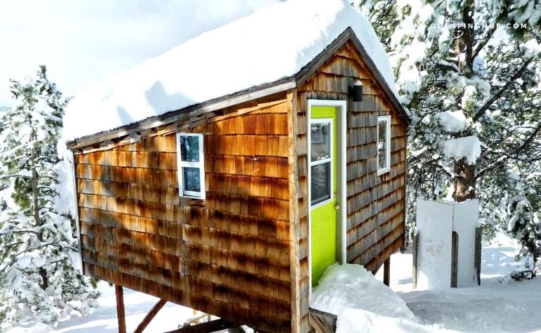 Pet Friendly Cabin Rental Nederland Colorado Glamping Hub