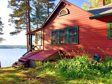 Miraculous Authentic Camping Cabin Rental With Boats Provided On Home Remodeling Inspirations Basidirectenergyitoicom