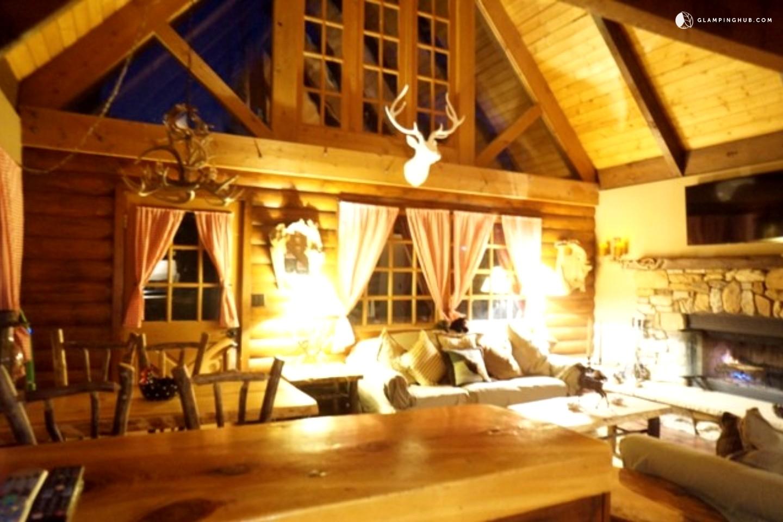Luxury cabin in big bear for Big bear luxury cabin