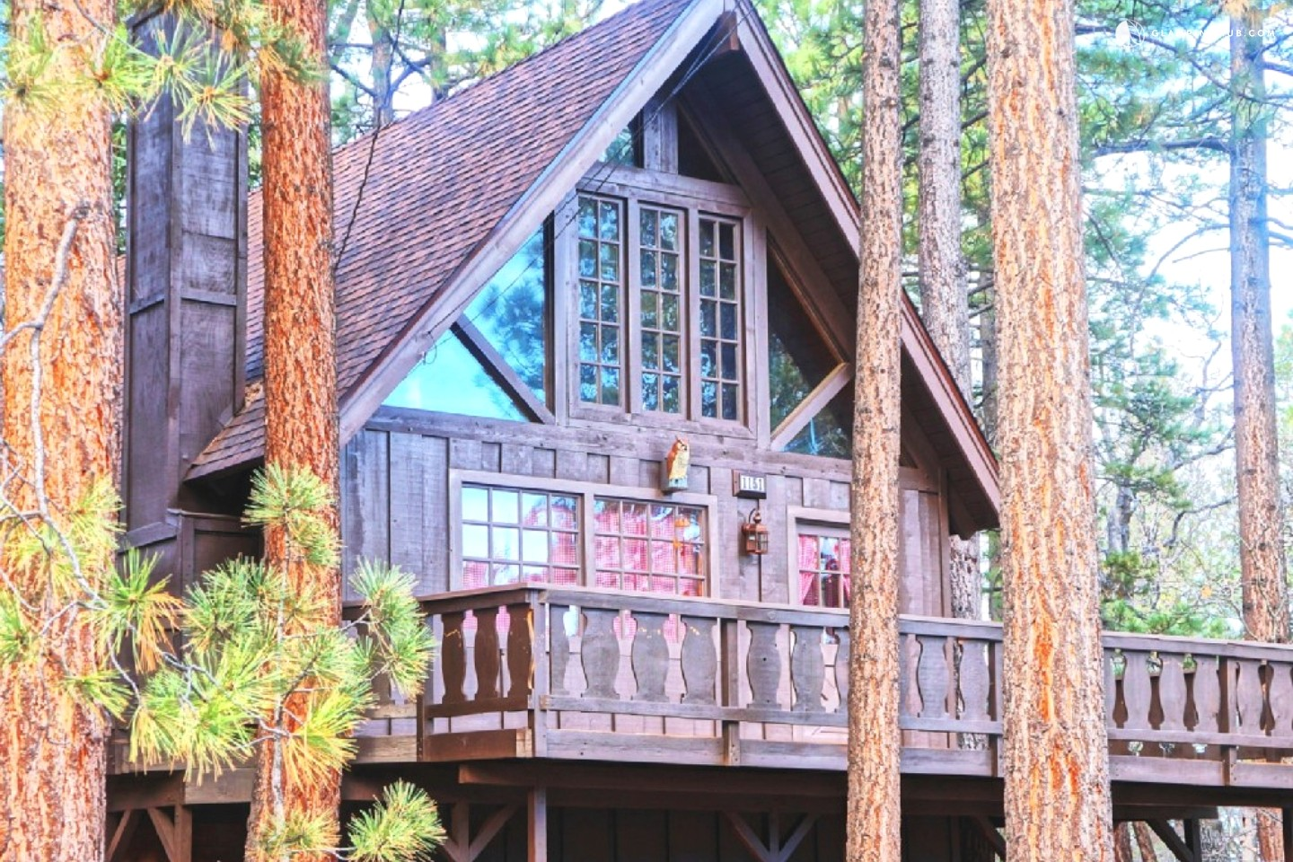 Luxury cabin in big bear for Cabins big bear
