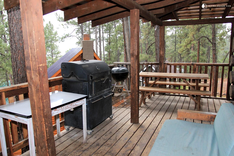 Log cabin rental near durango for Cabins to stay in durango colorado