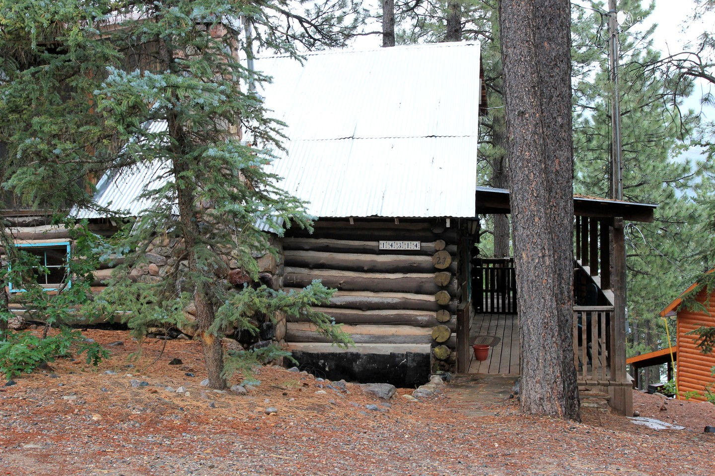 log cabin rental near durango