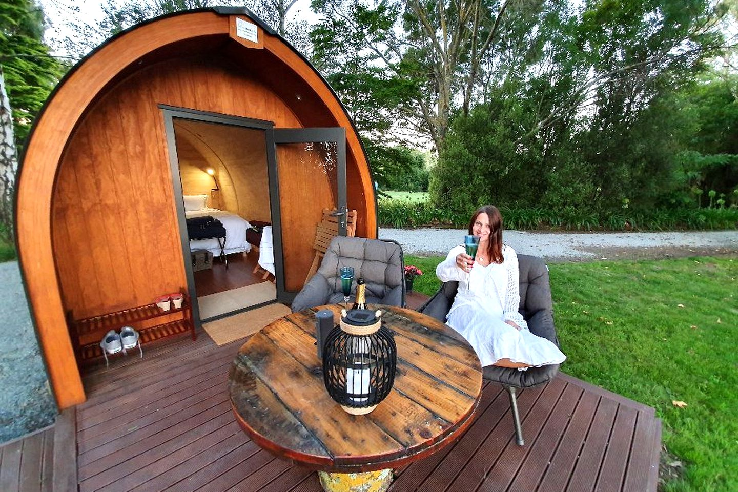 Looking for places to visit in New Zealand? Check out this totally unique pod accommodation for a romantic New Zealand hotel alternative.