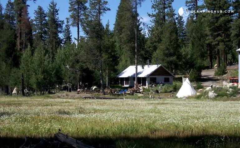 Secluded cabin in ponderosa california for Ponderosa cabins california