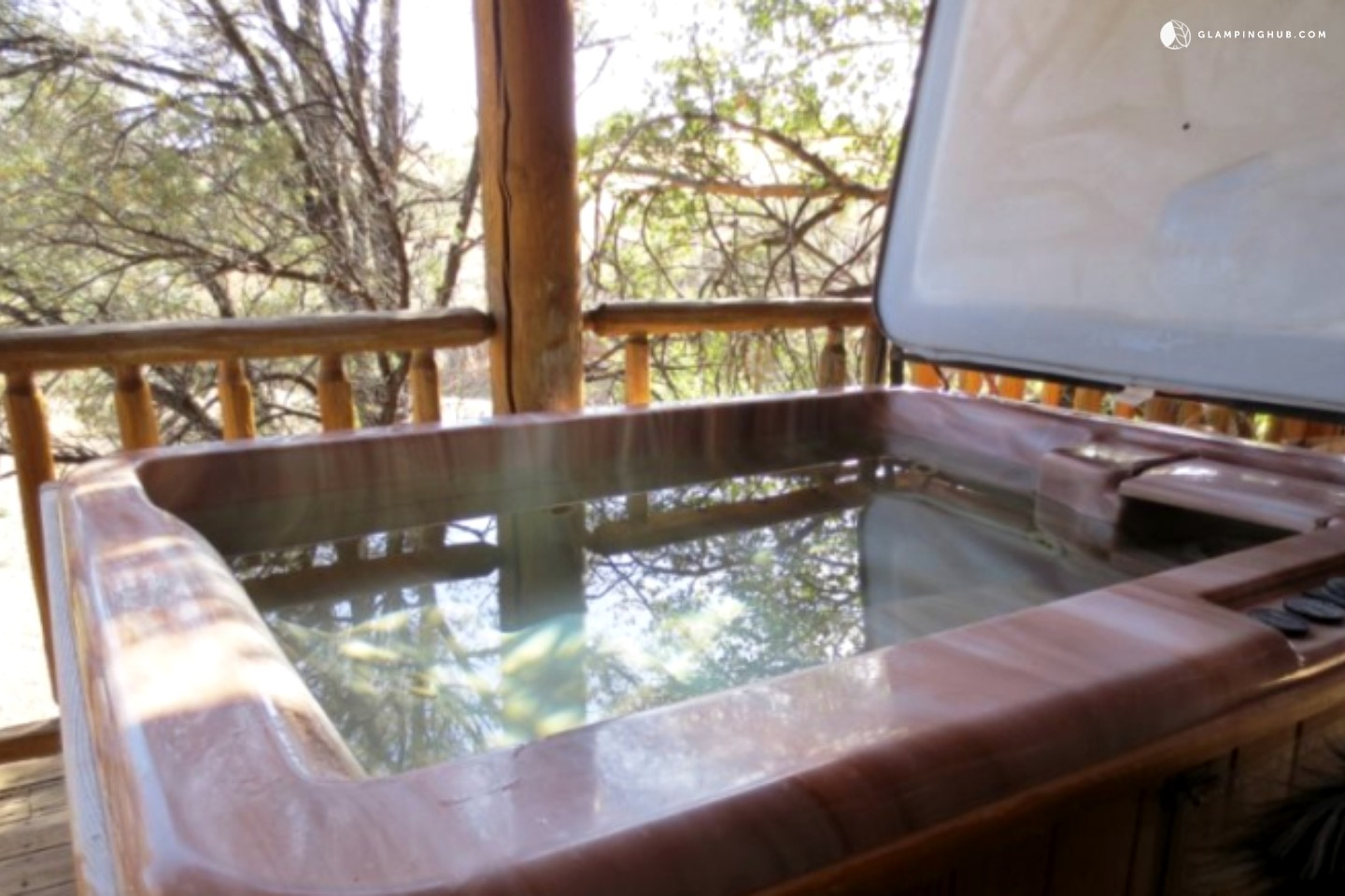 Family cabin near prescott national forest arizona for Az cabin rentals with hot tub
