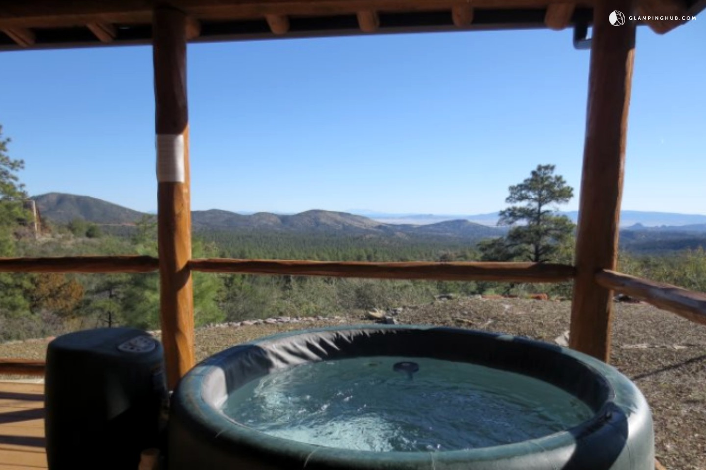 Getaway near flagstaff for Az cabin rentals with hot tub