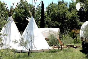 Yurt And Tipi Camping In France