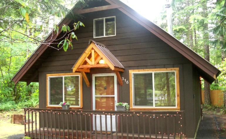 falls new just mt cabins paradise listing estates front creek rainier cabin near of rental stunning