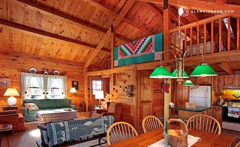 Pocono Log Cabin At Beltzville Lake State Park Pennsylvania