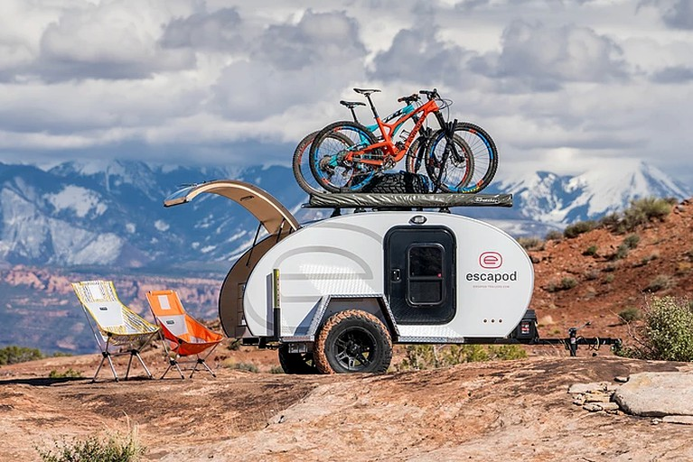 Gorgeous Teardrop Trailer Rental for a Couples' Vacation Exploring Moab,  Utah