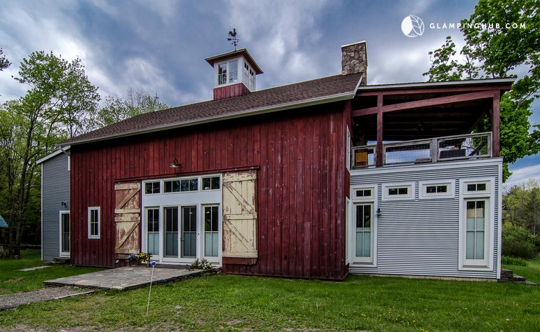 Charming Barn Rental on Pet-Friendly Farm, Upstate New York