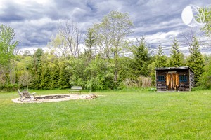 Photo of Remodeled Airstream and Barn on Large Farm Property, New York