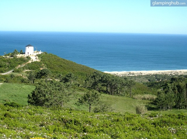 Luxury Windmill Accommodation In Portugal Glamping In Portugal - Portugal vegetation map