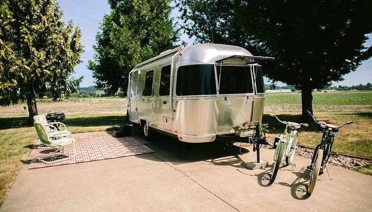 Rent vintage travel trailers oregon