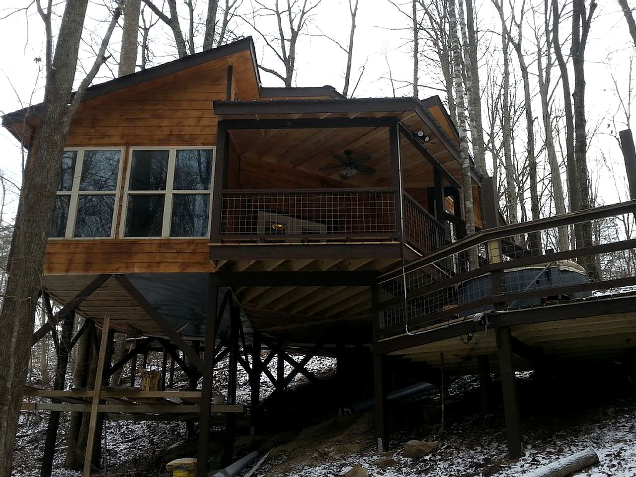 Tree Houses (Monteagle, Tennessee, United States)