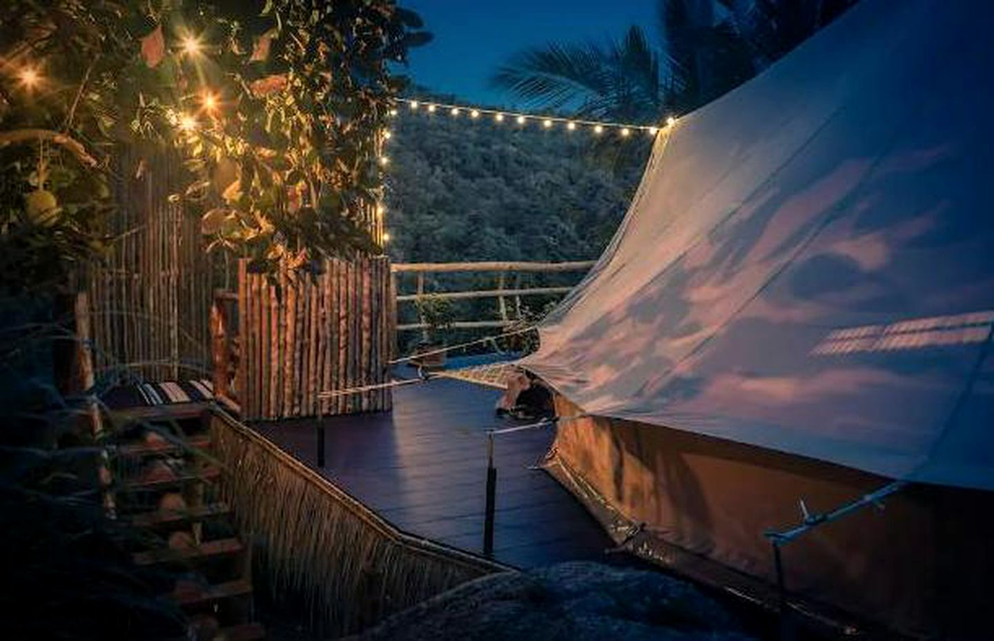 Luxury bell tent rental t in  Koh Phangan, Thailand