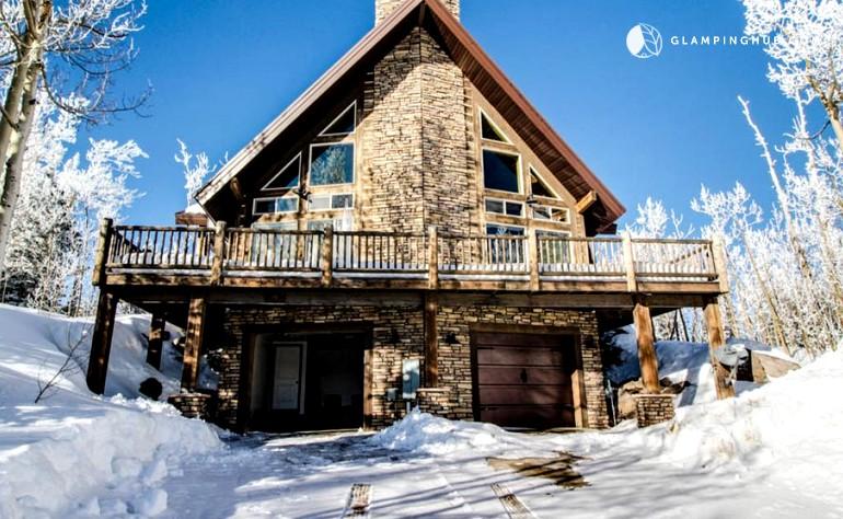 Mountain cabin near brian head resort utah for Brian head ski resort cabin rental